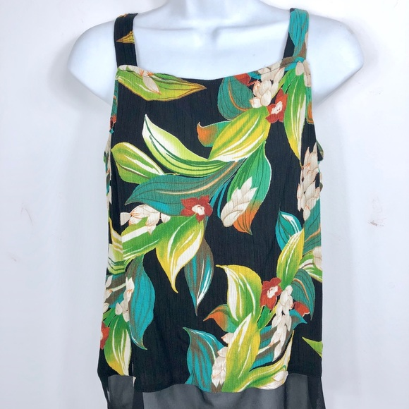 2d18793b90 Saint Tropez Wear Tropical Floral Tank